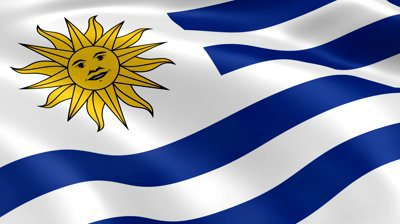 uruguay flag wallpaper